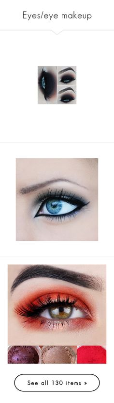 """""""Eyes/eye makeup"""" by lyonserenity ❤ liked on Polyvore featuring beauty products, makeup, beauty, eyeshadow, eye makeup, eyes, maquiagem, bath & beauty, grey and mineral eye shadow"""