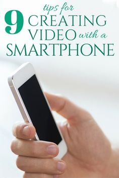 9 Tips for Creating Videos with Your Smartphone |The Crafty Blog Stalker -  Featured on #HomeMattersParty 100