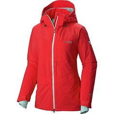 af94d1771e Columbia Women s Carvin  Insulated Jacket Red Camellia Spray M