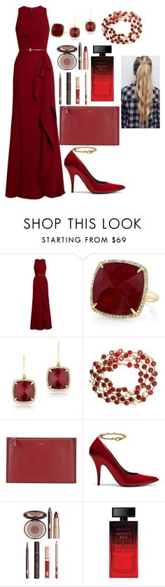 """""""Untitled #90"""" by livibooks ❤ liked on Polyvore featuring Elie Saab, Anne Sisteron, Chanel, DKNY, Mulberry, Charlotte Tilbury and Elizabeth Arden"""