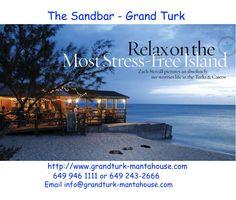 An affordable Turks and Caicos vacation. Beautiful beaches, beautiful people. Sandbar and Manta House run by Katya and Tonya Vieira.