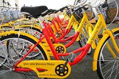 La vía activa ya cuenta con bicicletas públicas para la comunidad