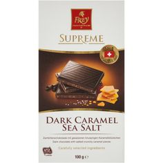 3.47 stars, 5409 reviews for Frey Chocolate Block Sea Salt Caramel 100g on Bunch.