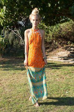 Drifter Maxi Dress Saraswati - Arnhem Clothing