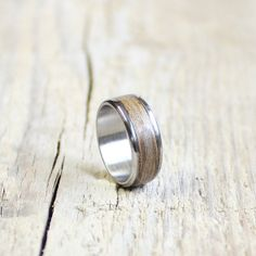 This unisex ring composed natural wood and stainless steel.  All the steps are handmade by me. A wonderful treat for yourself or a friend!  You can wearing everyday to office or any other occasion.  Size: in all size available!
