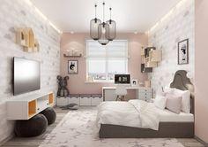 Интерьер детской комнаты в скандинавском стиле. Подробнее о нашей работе на сайте: www.azari-architects.com/services