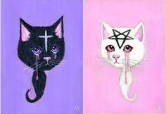 Jessicka Addams's Disturbing Paintings Capture Lost Innocence