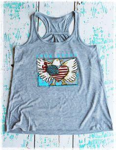 Dang Chicks Store - Dang Proud Eagle Tank Top, $38.00 (http://www.dangchicks.com/product/new/dang-proud-eagle-tank-top/)