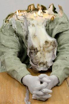 melted wax art | Tumblr