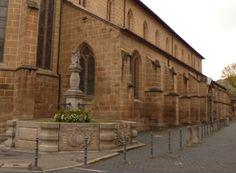 an der Kirche, Esslingen - Foto: S. Hopp