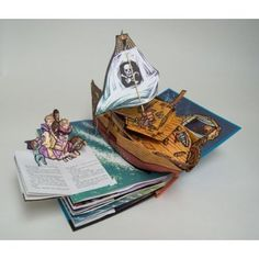 Peter Pan pop-up book by Robert Sabuda.  We have this and it's wonderful!  So many interactive bits and pieces