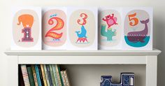 Etsy find of the day - animal birthday cards