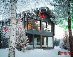 Rovaniemi Blockhäuser / Weihnachtsmanndorf in Rovaniemi, Lappland