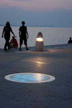 Sun Salutation and The Sea Organ Designed by a Croatian Architect, Nikola Bašić / Zadar,Croatia