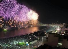 Reveillon in Brazil, traditional and emotional New Year's Eve celebration Holidays Around The World, Travel Around The World, Around The Worlds, Copacabana Beach, Zombie Walk, Winter Light Festival, Celebration Around The World, New Year's Eve Celebrations, Christmas Travel