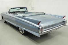 1962 Cadillac Convertible Rear