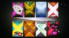 Movie poster movie art film print art poster print All 8 X-Men Posters (11x17 size). $80.00, via Etsy.