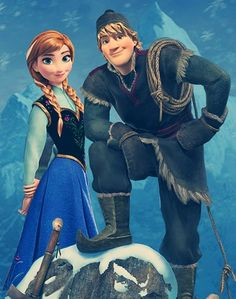 Anna and Kristoff So pumped for Frozen!