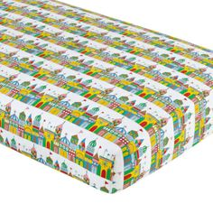 Goodnight Crib Fitted Sheet - 1001 Good Nights Crib Fitted Sheet