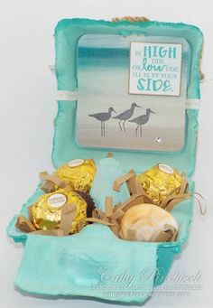 2016 two new products from the up coming Stampin' Up! Occasions catalogue for I have used the egg cartons and the High Tide stamp set. Easter Show, Egg Crates, Egg Carton Crafts, Stampin Up Catalog, Craft Sale, Summer Crafts, Stamping Up, Easter Crafts, Craft Fairs