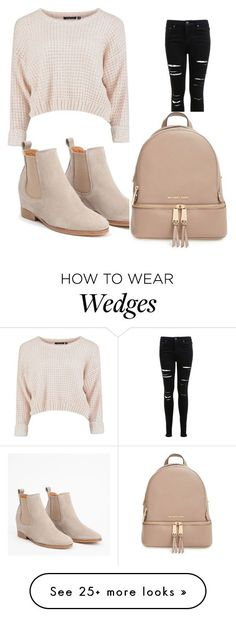 """Untitled #1"" by lulelula on Polyvore featuring Miss Selfridge and MICHAEL Michael Kors"