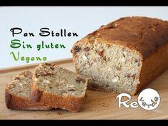 Pan Stollen Sin Gluten y Sin Levadura Vegano explicado en 1 minuto - YouTube