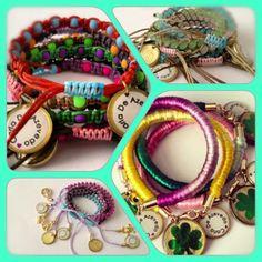 Pronto en Galeriainventiva.com a nivel nacional y aliados comerciales#handmade #bracelets #SummerLove @carladeazevedo
