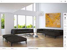 Al Schwartz painting using @iArtView