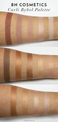The Beauty Vanity | BH Cosmetics Carli Bybel Palette Review Swatches