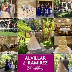 Congratulations to Alvillar & Ramirez #wedding!!