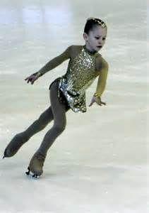 Aww! Yulia Lipnitskaya as a little girl <3