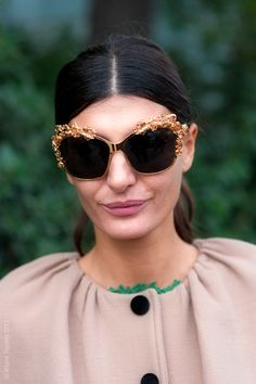 These D  amp  G glasses were made for her face. Too perfect. Dolce 51951882a8