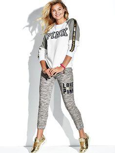 Slim Sport Pant - PINK - Victoria's Secret