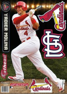 Fathead Yadier Molina Wall Decals By Fathead Yadier Molina And - Yadier molina wall decals