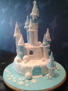Frozen taart communie