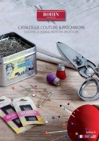 Aiguilles à coudre, ciseaux, cutter, épingles - COUTURE & PATCHWORK