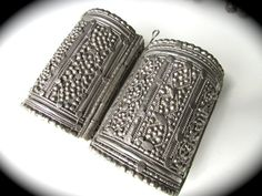 Sale Pair of Antique Yemini Filligree Hinged by ForgottenPast