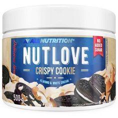 Allnutrition Nutlove Crispy Cookie cream 500g UK Sport Food, Potassium Bicarbonate, Best Vegan Protein, Crispy Cookies, Cocoa Cookies, Almond Cream, Sweet Sauce, Rice Cakes, Crunches