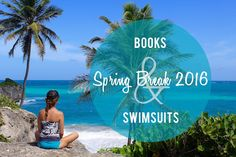 SPRING BREAK! What to read? What to wear? Delicious Reads Swimsuits and Books