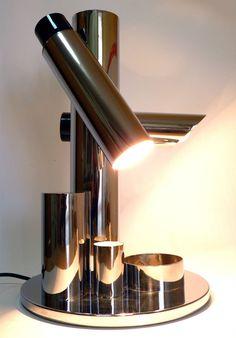 FASE MADRID BABILONIA Vintage Desk Industrial Light Lamp Mid Century Bauhaus 70s