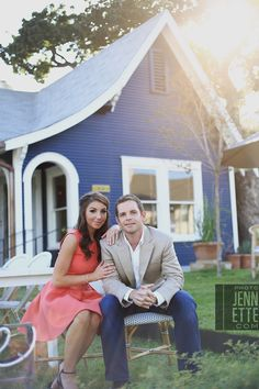 South Congress engagement photography in Austin, TX for Keisha & Cameron. Keisha and Cameron chose to fill their... CLICK TO SEE PHOTOS.