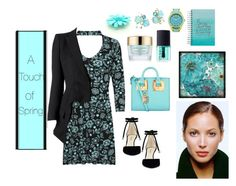 """""""A Touch of Spring 💠"""" by jbeb ❤ liked on Polyvore featuring WearAll, Alexander McQueen, Nine West, Sophie Hulme, Estée Lauder, NARS Cosmetics, Pier 1 Imports and Ippolita"""