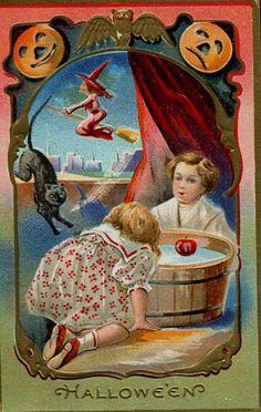 .nostalgic Halloween cards