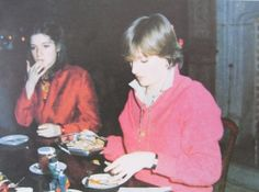 1979 - Christmas dinner at Althorp on 25th December