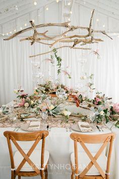 Gorgeous, Sophisticated Driftwood Style by Cedarwood Weddings | #CedarwoodWeddings