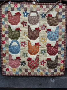 count your chickens quilt - Google Search