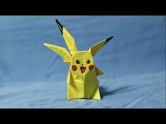 518 포켓몬 GO (포켓볼)2 - 2 색종이접기  Origami  paper  pokeball 종이접기 Pokemon Go  摺紙 折纸 оригами 折り紙  اوريغامي - YouTube