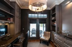 Home Office - Whole Home Renovation, Lawrence Park | whitehallhomes.ca