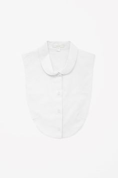 Rounded collar mock shirt