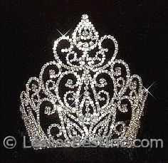 beauty pageant crown large   ... Tiaras & Crowns :: Tiaras & Crowns over 4 inches :: Beauty Queen Crown